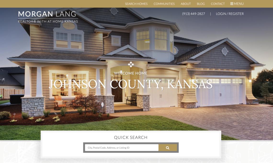 Morgan Lang Johnson County Real Estate Agent