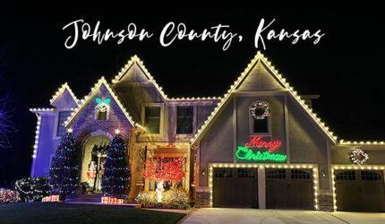 Christmas LIghts Around Johnson County, Kansas