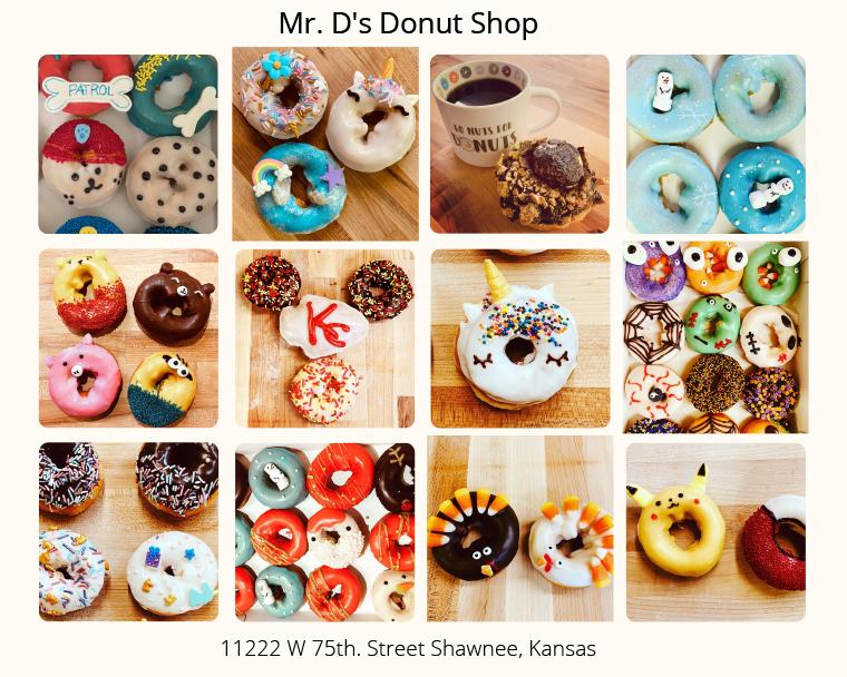 Mr. D's Donut Shop Shawnee Kansas