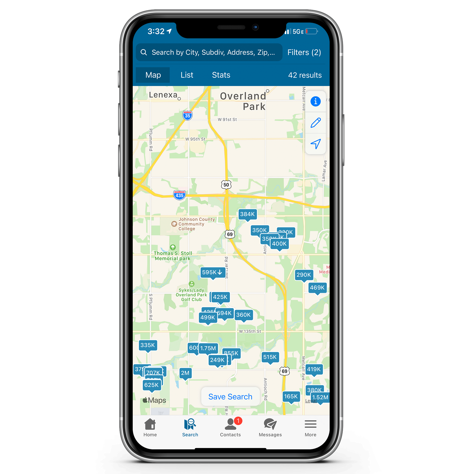 Kansas City Area home search app